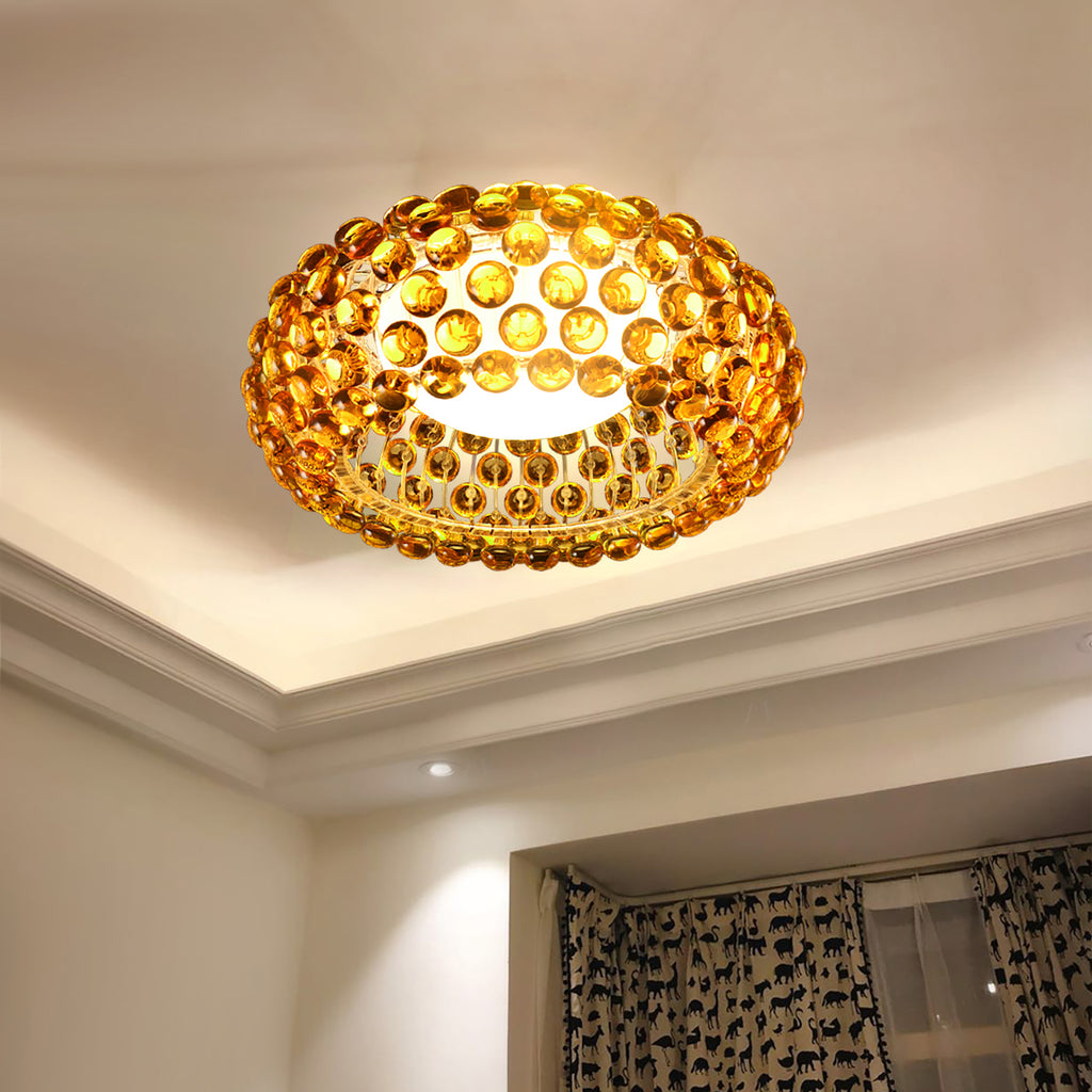 Briller Ceiling Light - Gold