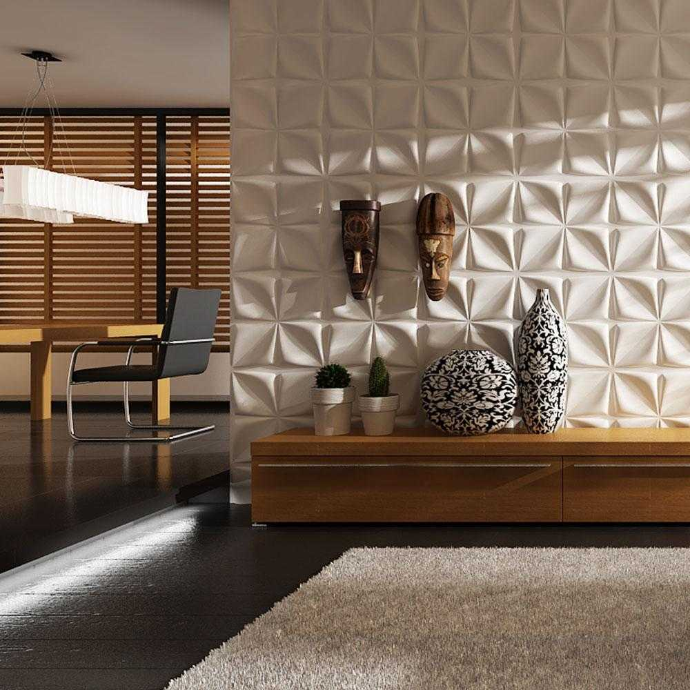 Calin 3D Wall Panels (1m²)      24.90  iLite Lighting