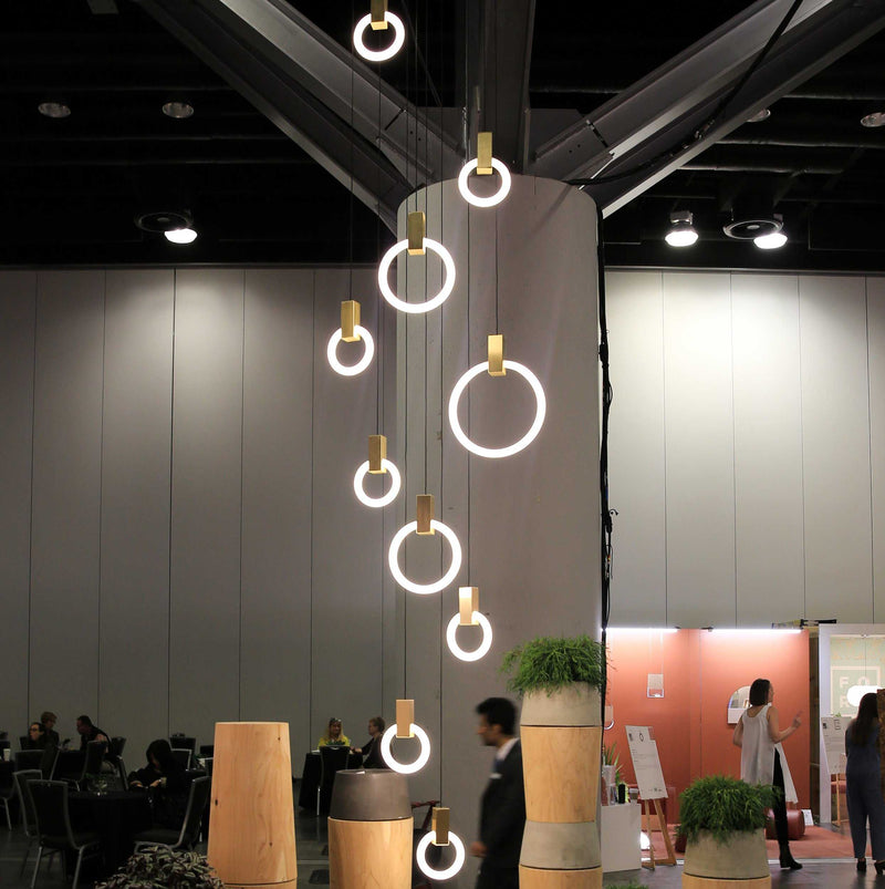 Halo 12 Pendant Light | iLite Lighting