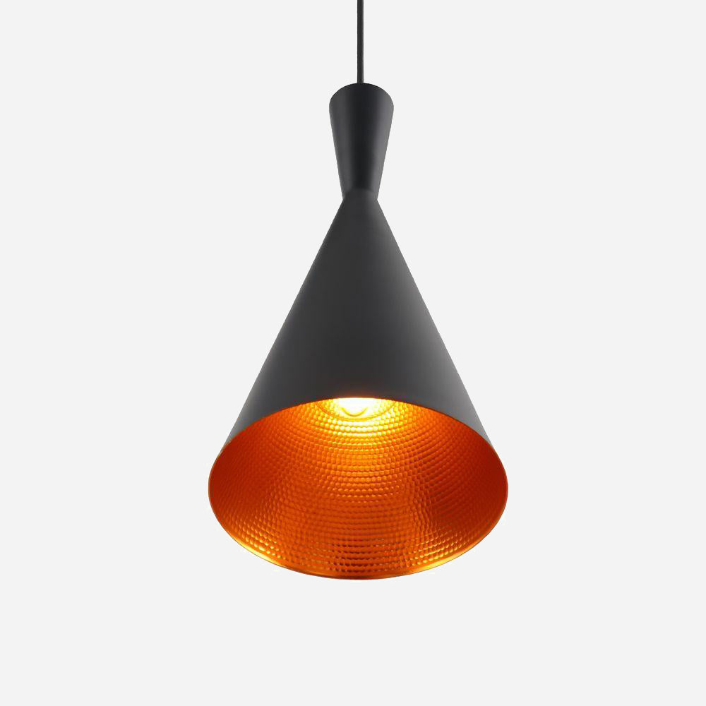 Funk Tall Pendant Light - Black