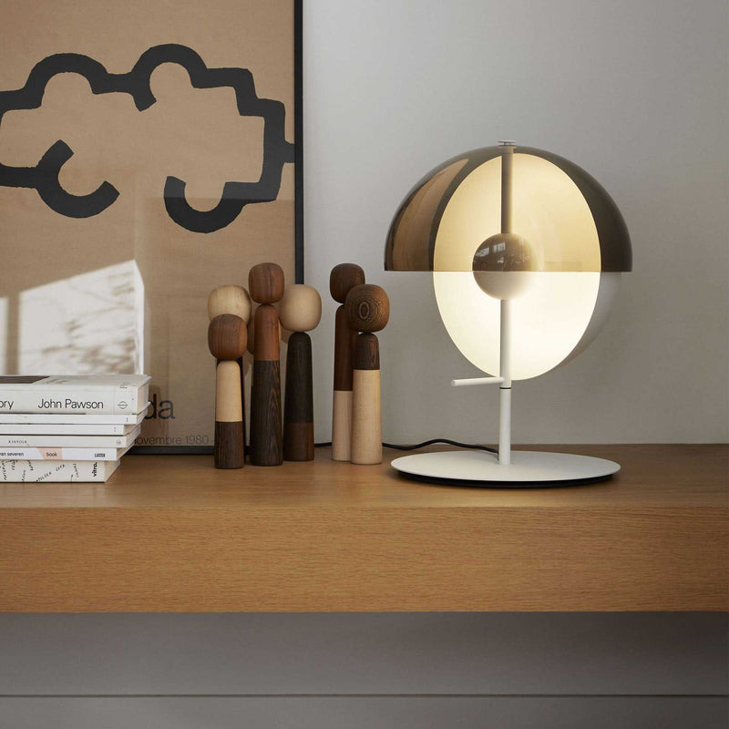 Lucia Table Lamp - White | iLite Lighting