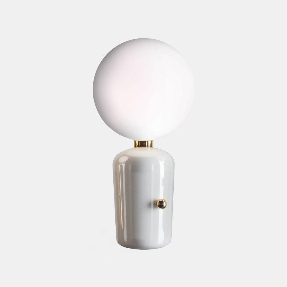Aballs M Table Lamp - White      189.90  iLite Lighting