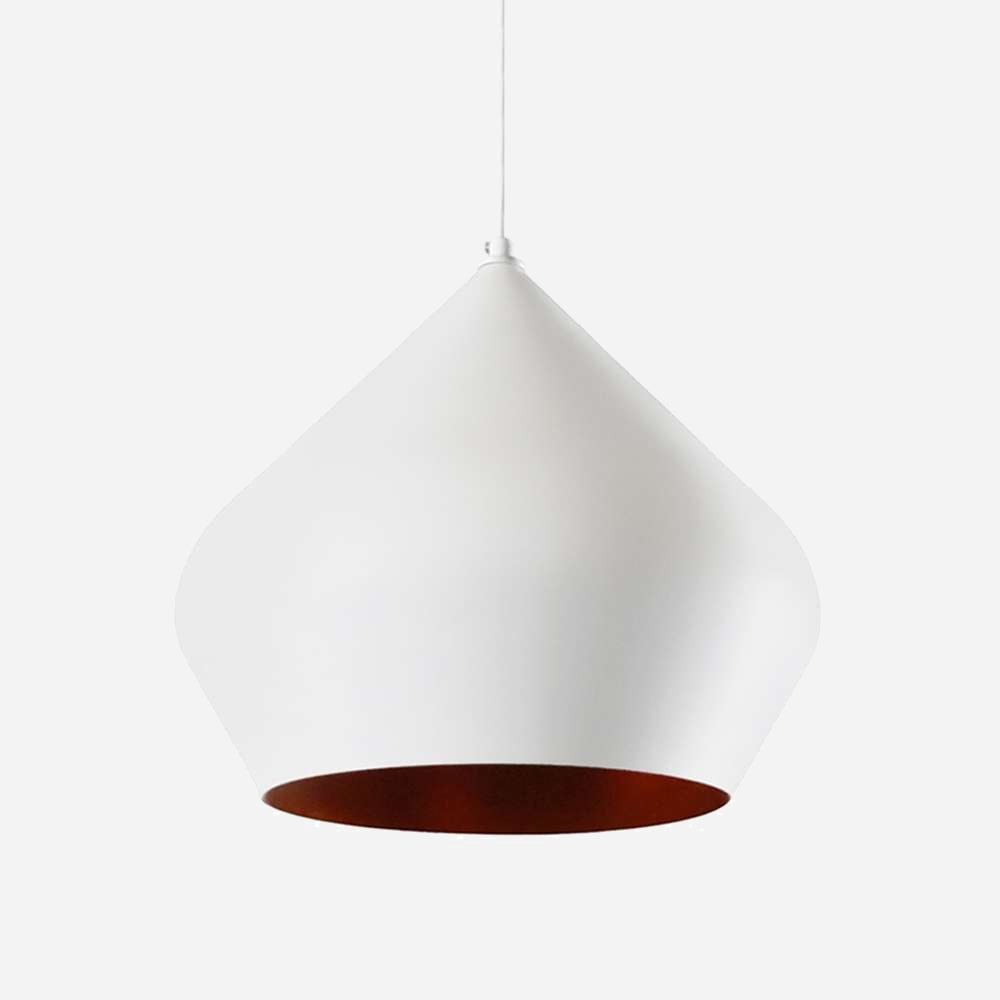 Funk Stout 52cm Pendant Light - White