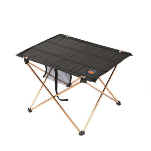 Portable Folding Table Aluminium Alloy Picnic Barbecue Table Ultra-light Durable Outdoor Table Desk For Camping Travel