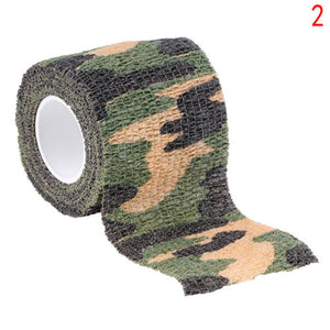Camo Waterproof Wrap Camping Hiking Camouflage Stealth Tape