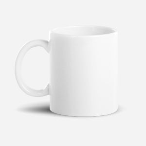White Glossy Mug - Christian Clothing Malachi Clothing Co