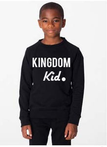 Kingdom Kid Sweater - Christian Clothing Malachi Clothing Co