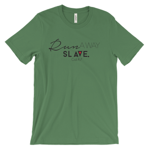 Run Away Slave Green - Christian Clothing Malachi Clothing Co