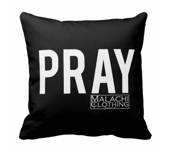 PRAYER PILLOW - Christian Clothing Malachi Clothing Co