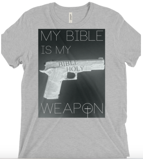My Bible Gray - Christian Tee Shirts - Christian Clothing Malachi Clothing Co