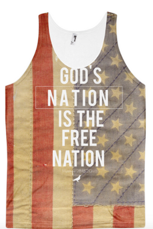 Religion Clothing - Gods Nation Tank Top - Christian Clothing Malachi Clothing Co