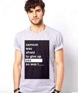 Samson - Christian Shirts for Men - Christian Clothing Malachi Clothing Co