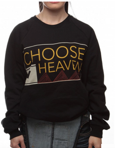 Choose Heaven Sweater- Christian Apparel - Christian Clothing Malachi Clothing Co