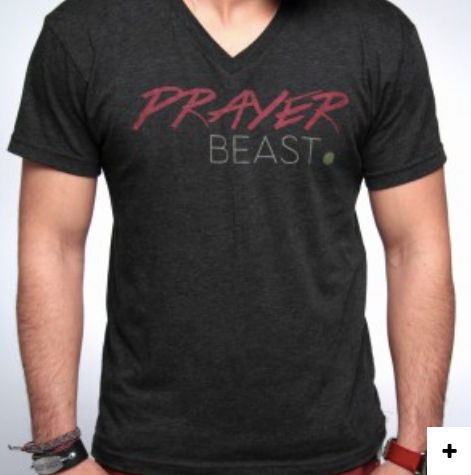 Prayer Beast- Christian Mens Clothing - Christian Clothing Malachi Clothing Co
