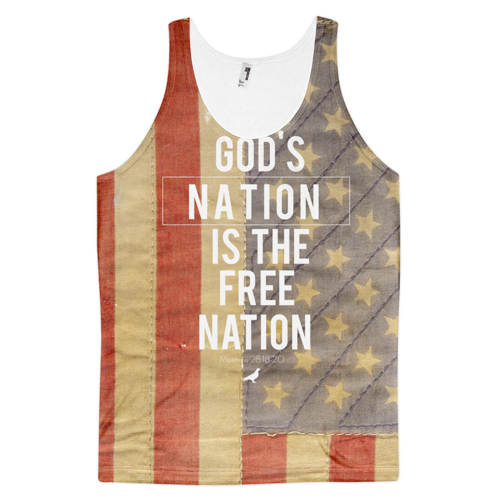 Gods Nation Tank top - Christian Clothing Malachi Clothing Co