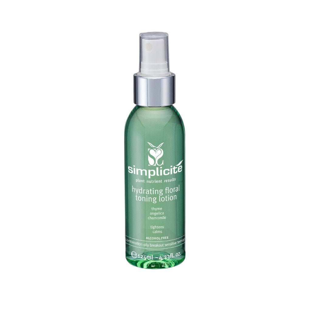 HYDRATING FLORAL TONING LOTION COMBINATION/OILY 125ML