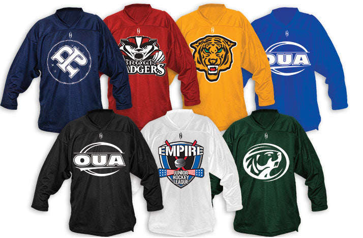 Harrow Sports Custom Screen Printed Midweight Practice Jersey Collection
