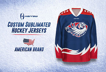 Harrow Sports Sublimated USA Hockey