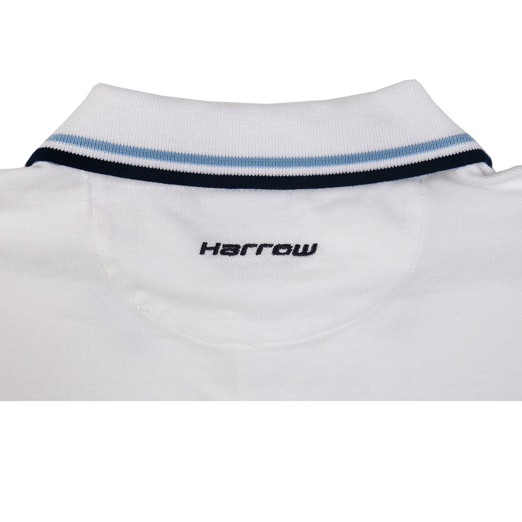 Tipped Cotton Polo - Harrow Sports