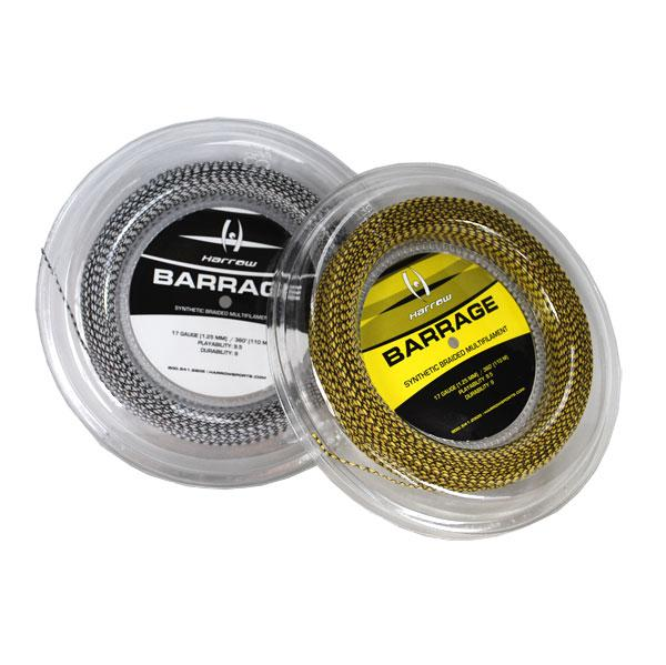 Barrage Squash String, 17 Gauge, 360' Reel - Harrow Sports