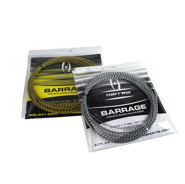 Barrage Squash String, 17 Gauge, Single Pack - Harrow Sports