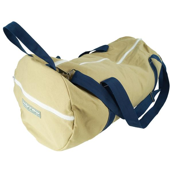 Hampton Canvas Barrel Duffel Bag