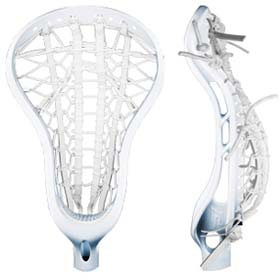 Fury Lacrosse Shaft and P11 Head - White - Harrow Sports