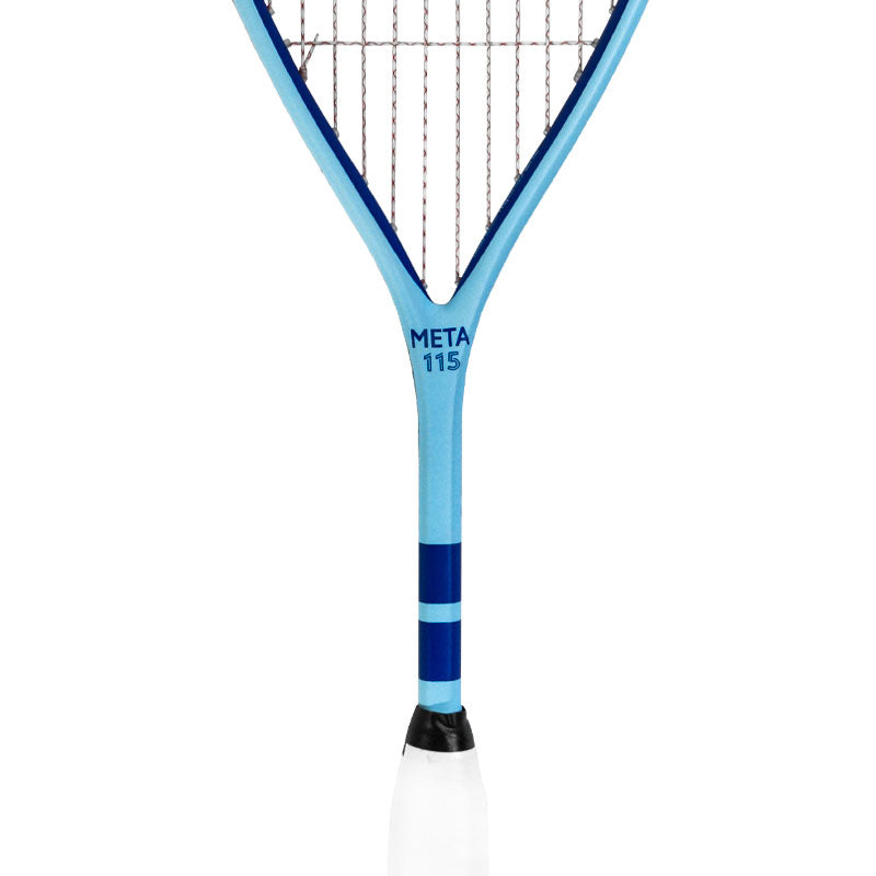 Harrow Meta 115 Squash Racquet - Carolina Blue - Harrow Sports
