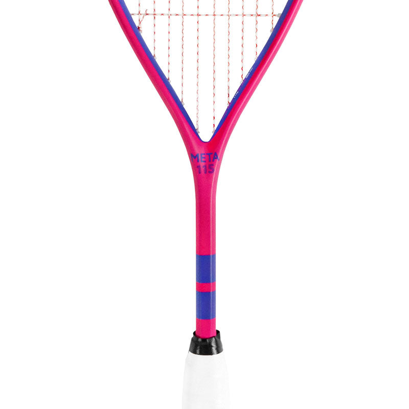 Harrow Meta 115 Squash Racquet - Pink - Harrow Sports