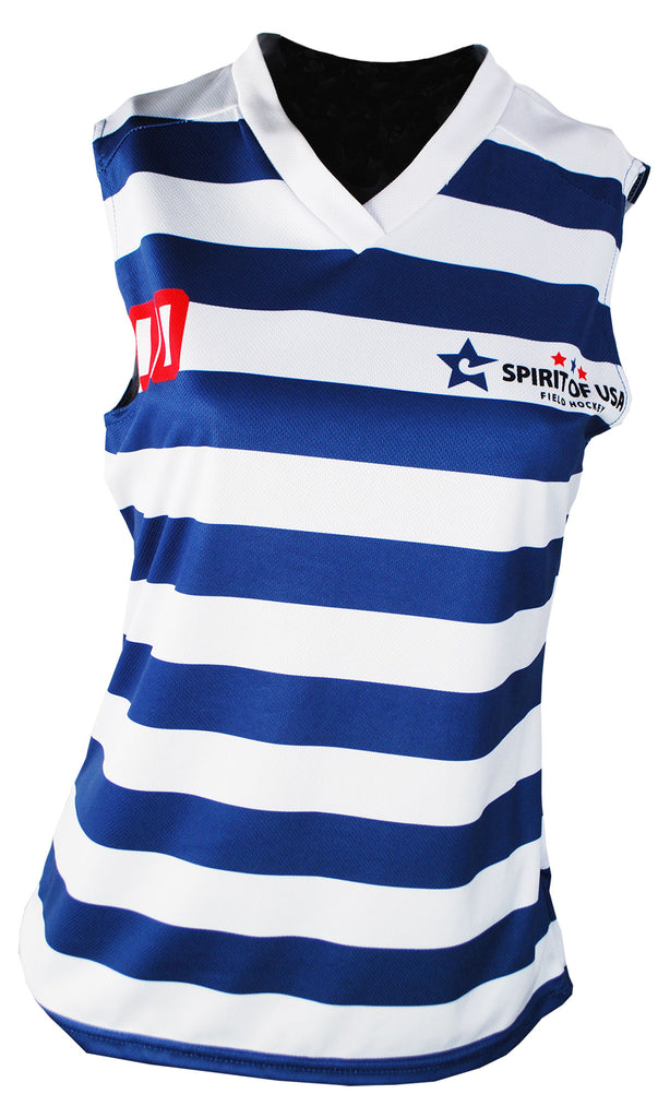 Custom Sublimated Women's Sleeveless Jersey - Harrow Sports