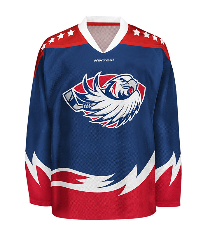 Custom Sublimated Hockey Jersey - Harrow Sports
