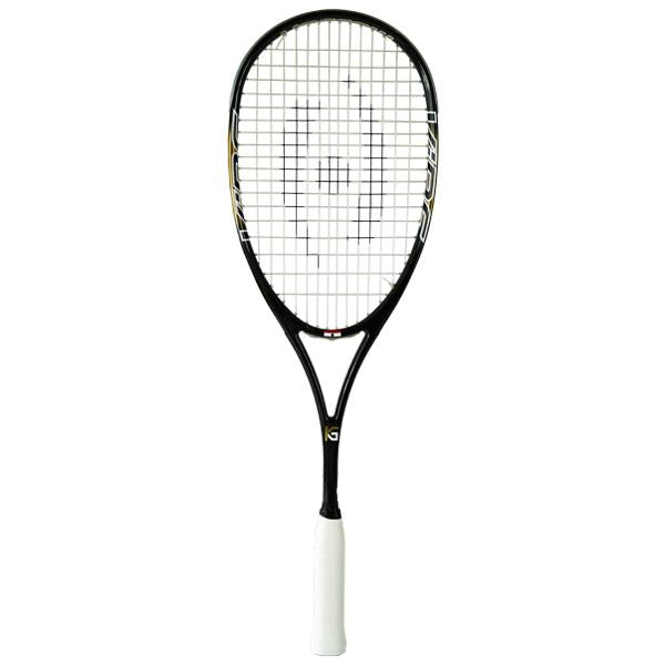 NEW Harrow Vibe Squash Racquet - Karim Abdel Gawad Custom - Black/Vegas Gold - Harrow Sports
