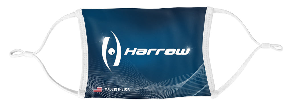 Custom Sublimated Lightweight Washable Face Mask - Harrow Sports