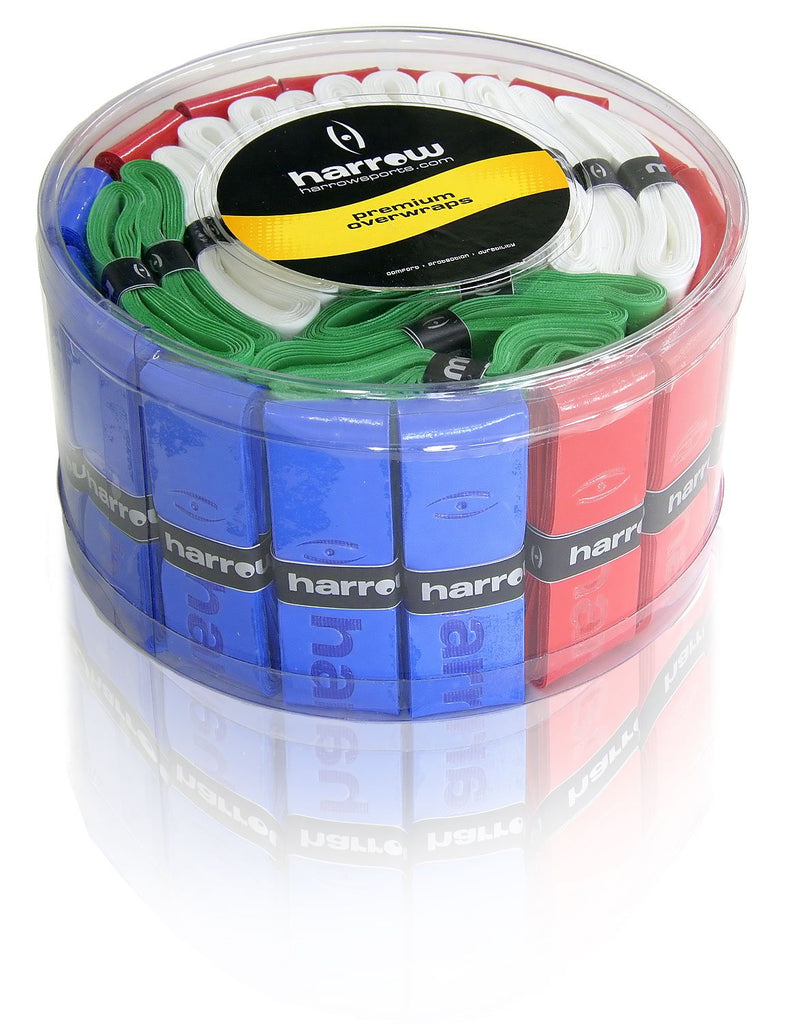 Over Wrap Grip Container with 60 Assorted Colors - Harrow Sports