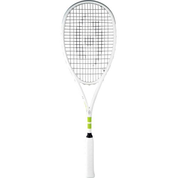 Harrow Vapor Squash Racquet - Custom Raneem El Welily - White - Harrow Sports