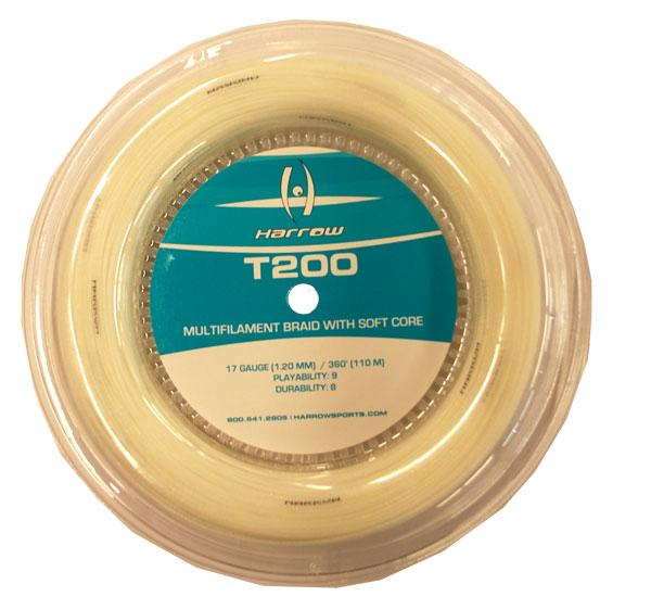 T200 Squash String, 360' Reel - Harrow Sports