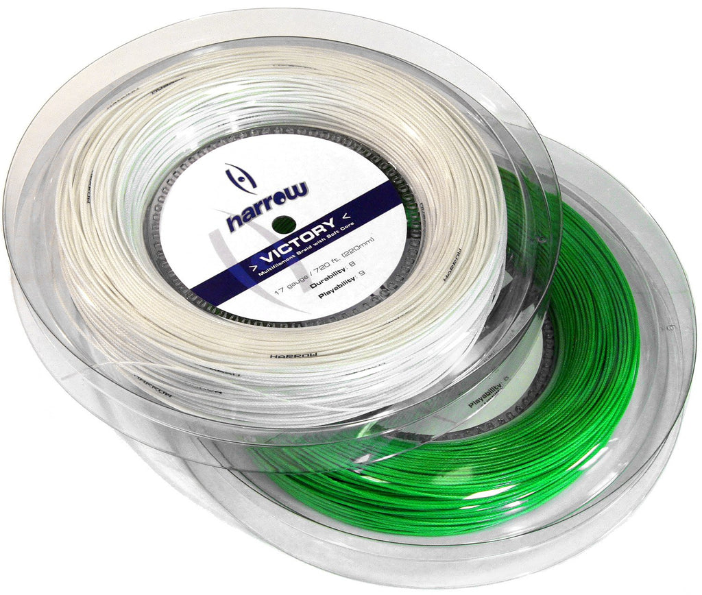Harrow Victory Squash String, 17 Gauge, 720' Reel - Harrow Sports