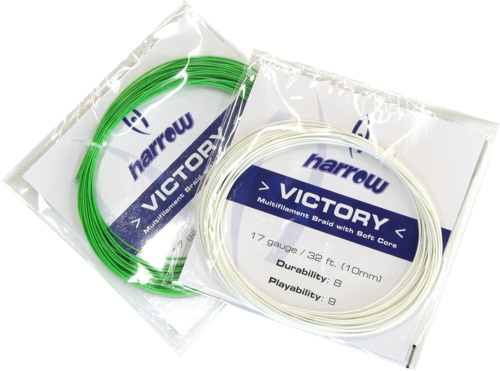Harrow Victory Squash String, 17 Gauge, Single Pack