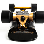 Faboard Gold Version 2 Dual Belt Affordable Light Electric Skateboard with swappable battery - ridefaboard
