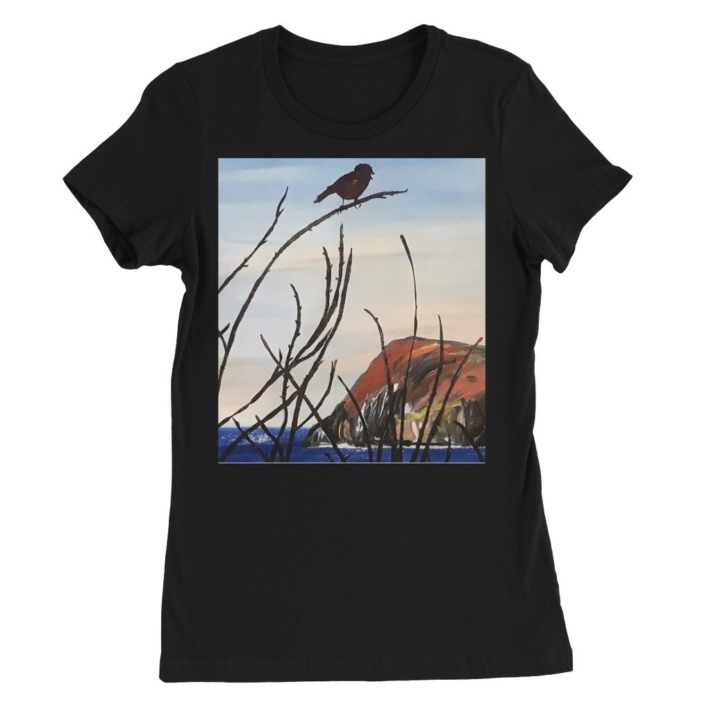View of Dinas Head Womens Favourite T-Shirt