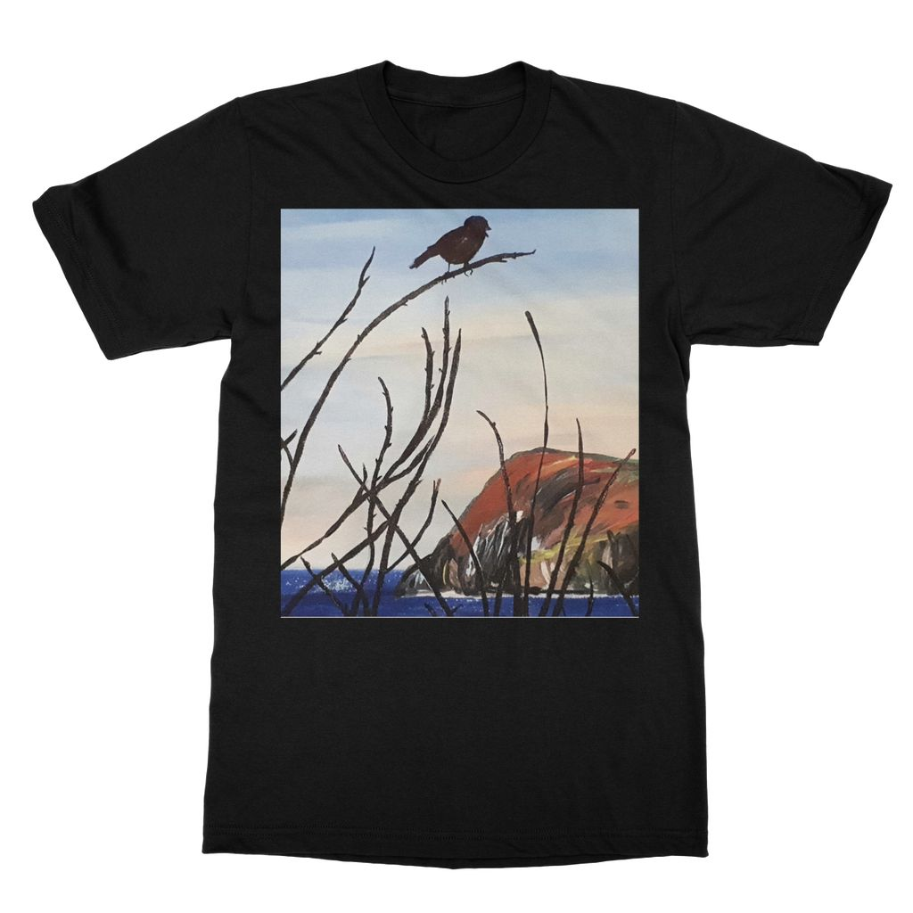 View of Dinas Head T-Shirt