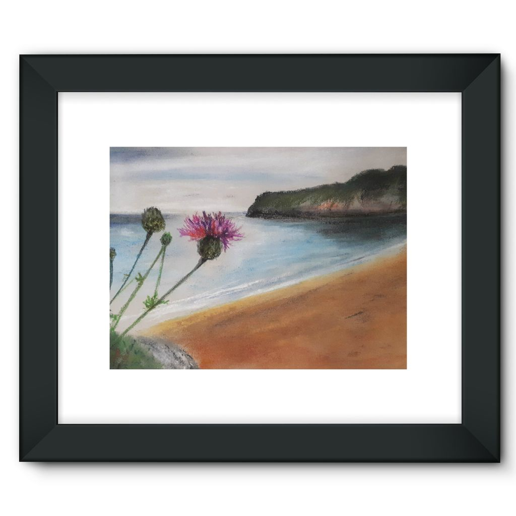 Barafundle Beach, Pembrokeshire Framed Print