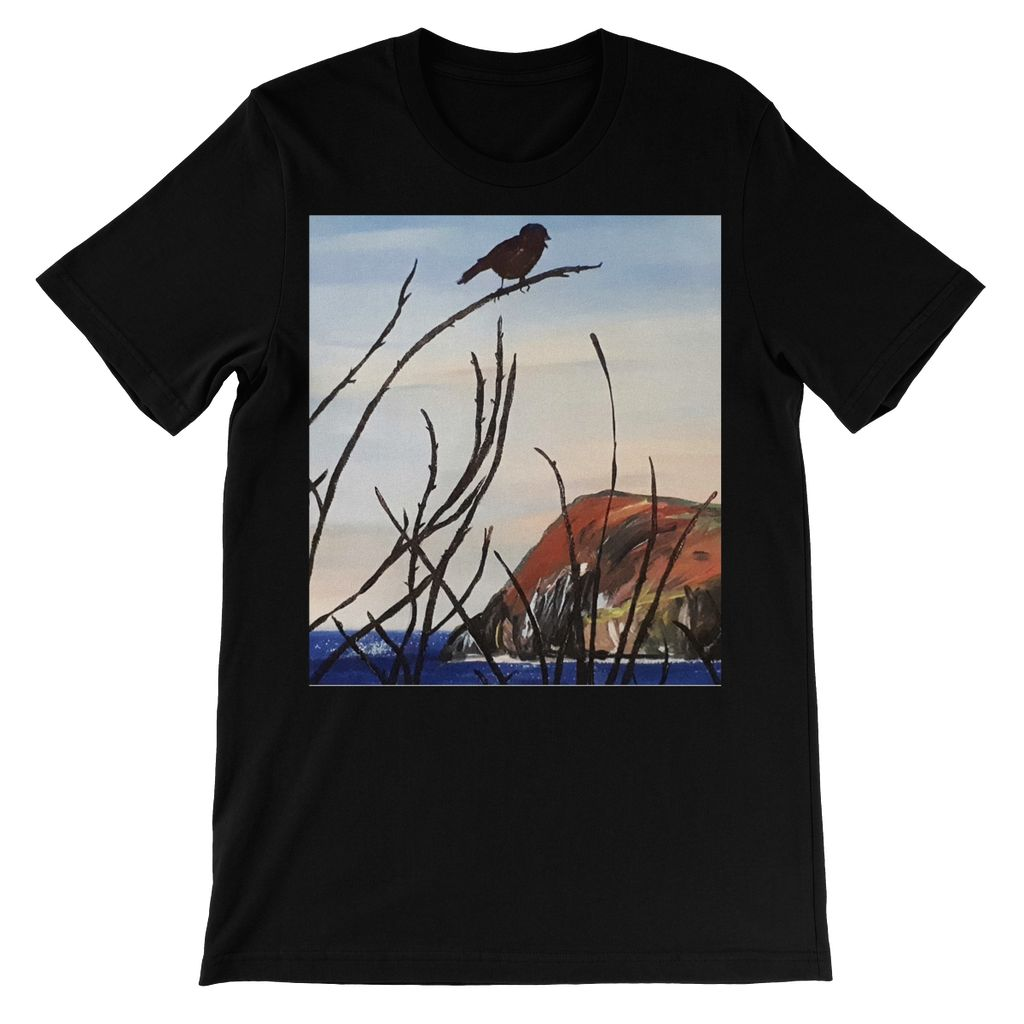 View of Dinas Head Short Sleeve T-shirt