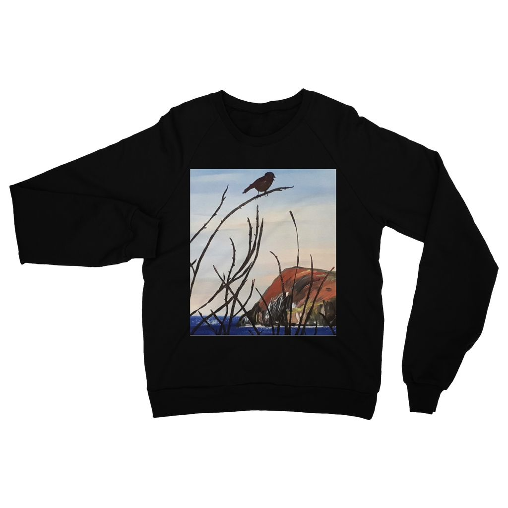View of Dinas Head Womens Sweatshirt