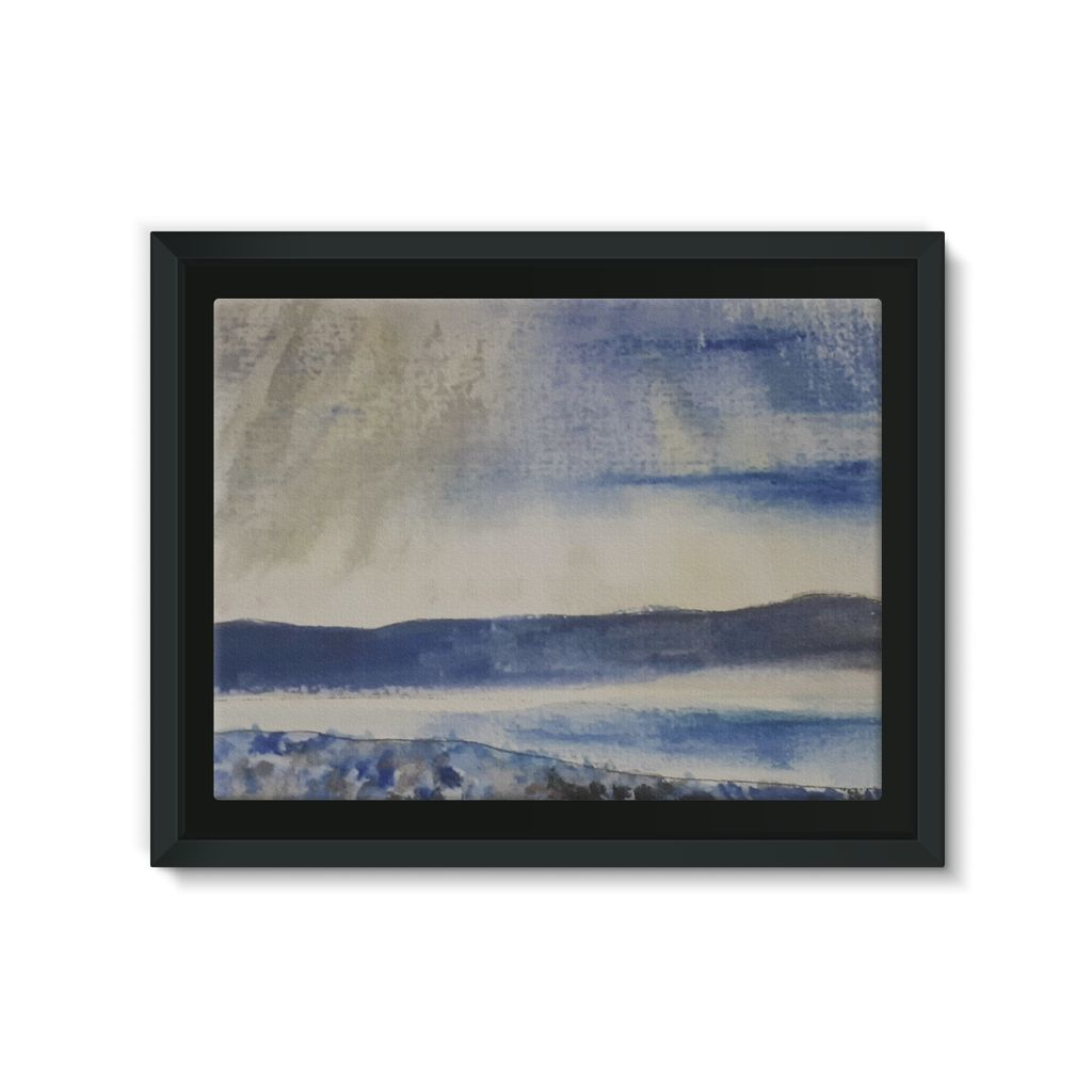 Newgale Beach, Pembrokeshire Framed Canvas Lite