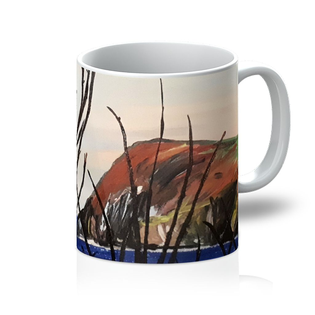 View of Dinas Head Mug