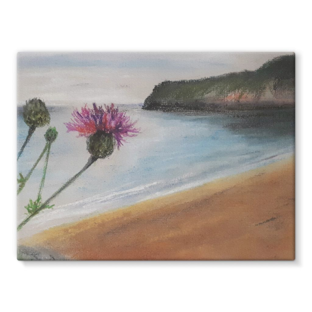 Barafundle Beach, Pembrokeshire Canvas