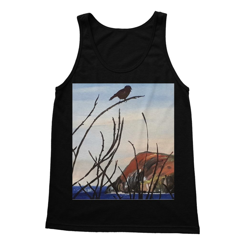 View of Dinas Head Softstyle Tank Top