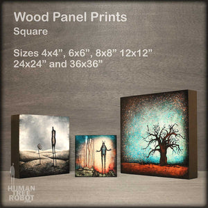 Wood Panel Prints Square Collection Image
