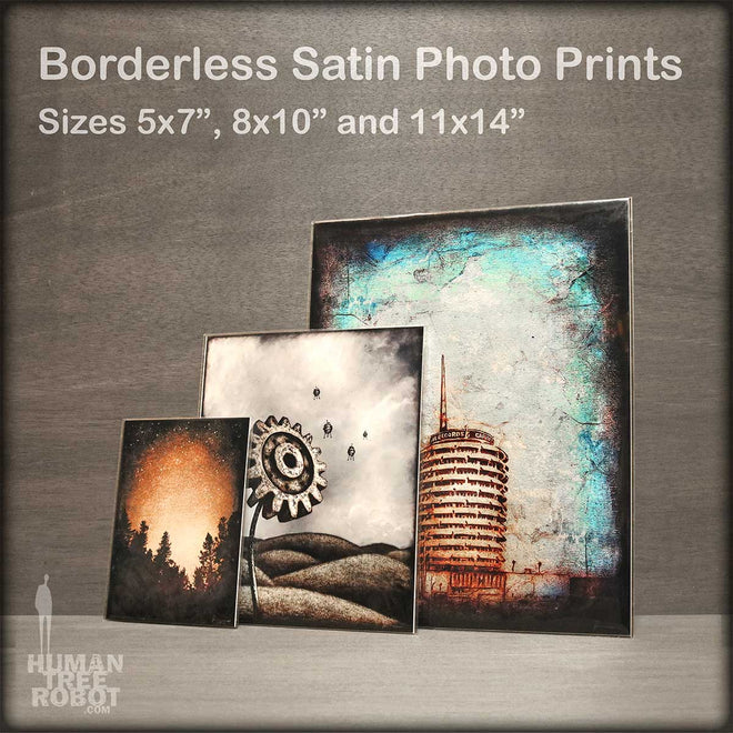 Borderless Prints: Three Sizes